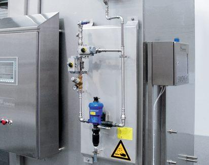 Dispositif de nettoyage avec dosatron (option)