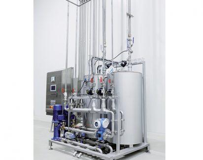 Dispositif de nettoyage pour installations industrielles
