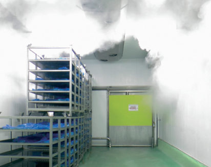 Arrivée de vapeur basse pression