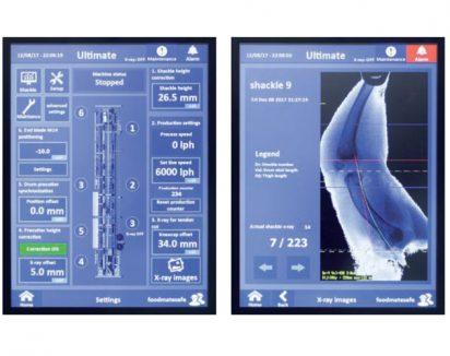 L'écran tactile fournit à l'opérateur des mesures précises en temps réel