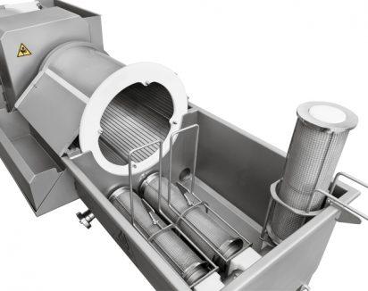 Pré-filtre cylindrique rotatif à grille - Modèle FR-33