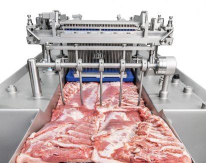 Têtes d'injection pour poitrines de porc