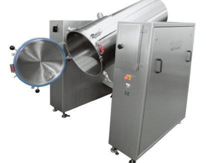 Position de vidage du mélangeur rapide gamme AGM