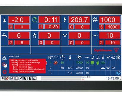 AC Touch – Paramètres affichés variables en fonction du modèle (option)